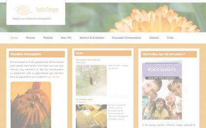 Website Tineke Schaperopacity